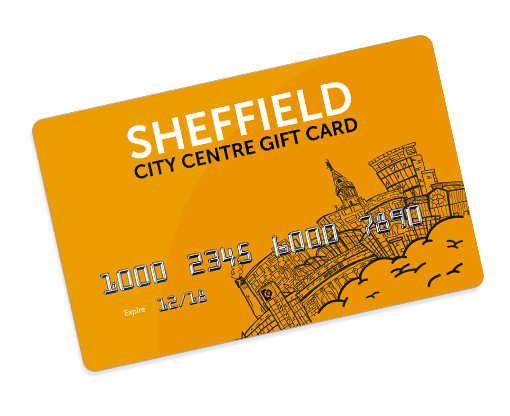 Sheffield Gift Card