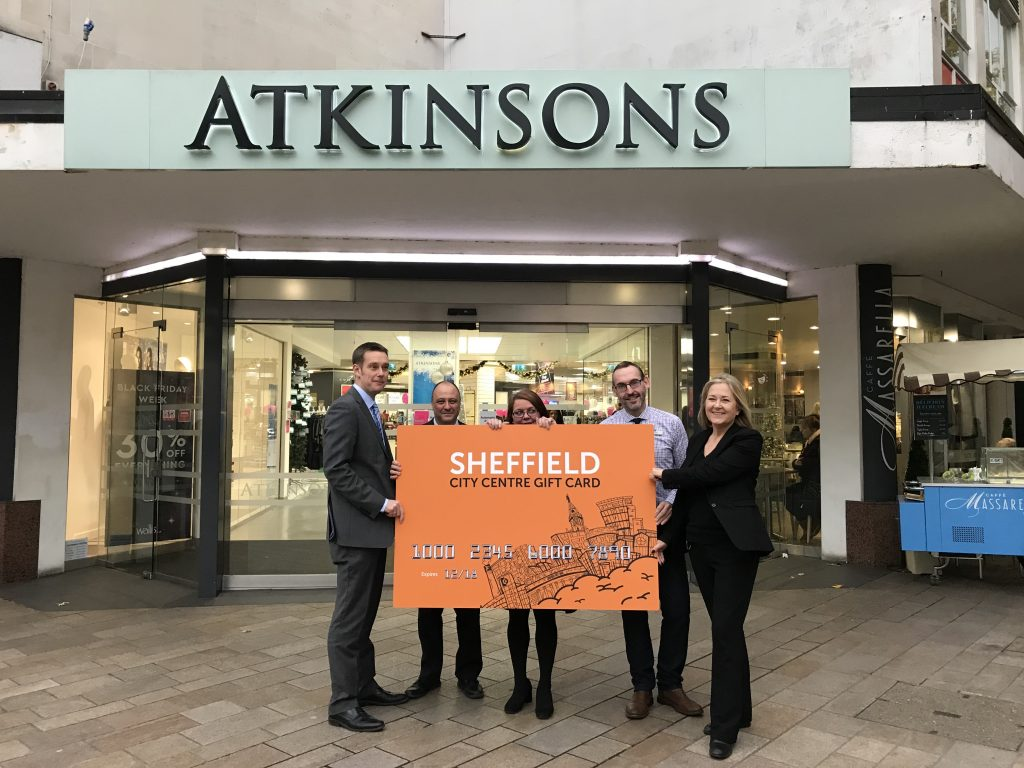 Atkinsons, Sheffield's independent, family-run, department store is accepting the Sheffield Gift Card